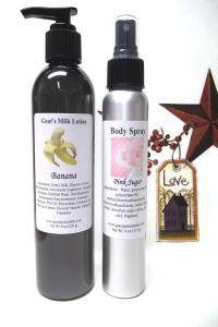 Body Lotion & Body Spray Set