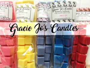 (Bulk Bundle) - Large bags of Chunks x5-chunk wax tarts melts chips break away bar gracie yankee scentsy lush victoria fragrance scent scented cube cubes candle candles christmas birthday anniversary home decor prim primitive country shabby chic aroma air warmer burner