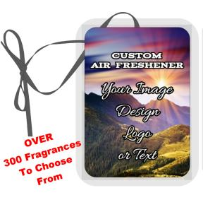 Custom Air Freshener-custom print air freshener fragrance scent car home house truck vehicle personalize