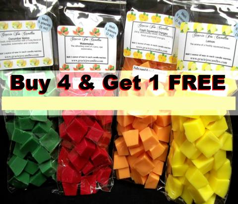 (Buy 4 Get 1 Free) Mini Chunks-candle wax melts tarts chunks cubes chips gracie yankee scentsy lush home decor vinyl decal car sublimation print gift present custom customize personalize christmas birthday party anniversary wedding favor