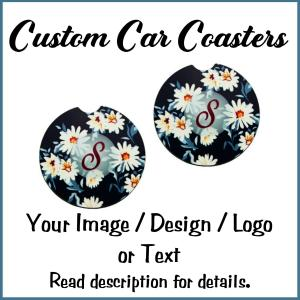 Custom Car Coasters-