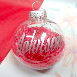 Scented Christmas Ornament-