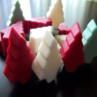 Single Pack - Christmas Tree Wax Tarts