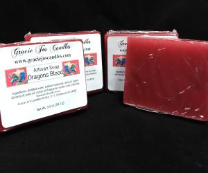 Artisan Glycerin Soap - Dragons Blood-