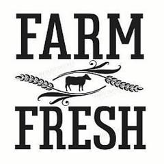 Vinyl Decal - Farm Fresh