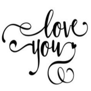 Vinyl Decal - Love You-