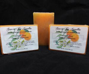Artisan Glycerin Soap - Orange Blossom