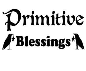 Vinyl Decal - Primitive Blessings-