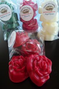 (Single Pack) - Roses  Large Wax Tarts-