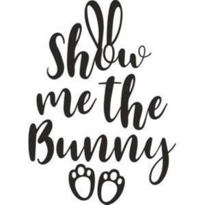 Vinyl Decal - Show Me The Bunny-